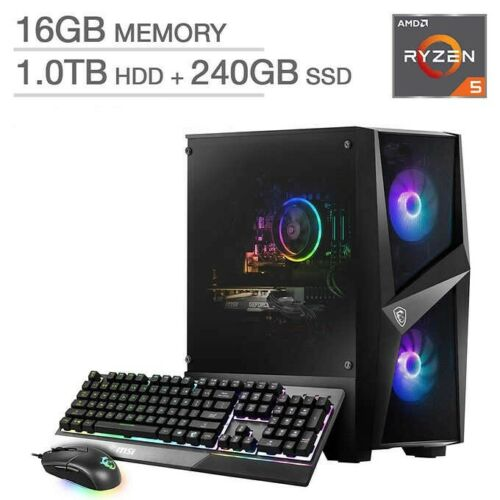 PRO GAMING COMPUTER  - AMD RYZEN 5 3600 - AWESOME GAMING RIG! *****NO GPU*****