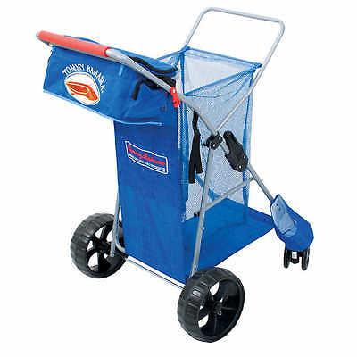 Tommy Bahama  All Terrain Beach Cart Includes Cargo Tote Bag