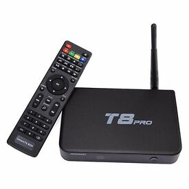 T8 pro Android tv box with kodi