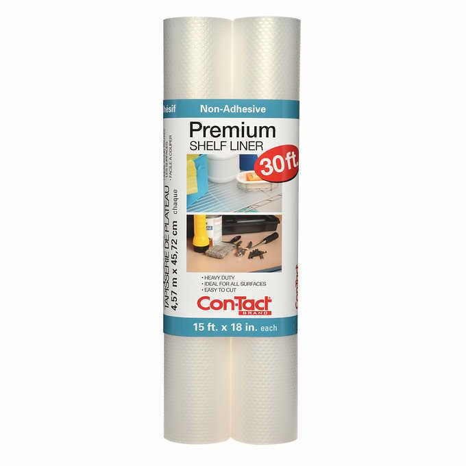 con tact brand premium non adhesive shelf