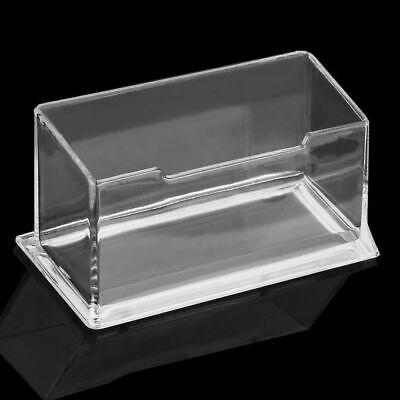 Sale Clear Desktop Business Card Holder Display Acrylic Plastic Desk Shelf Stand