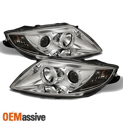 Fits 03-08 BMW Z4 E85 Sport Coupe Roadster Dual Halo Projector LED Headlights for sale  Hacienda Heights