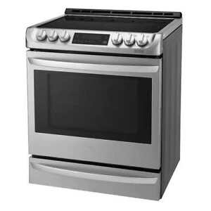 LG 30'' Slide-in Electric Range with ProBake Convection Oven