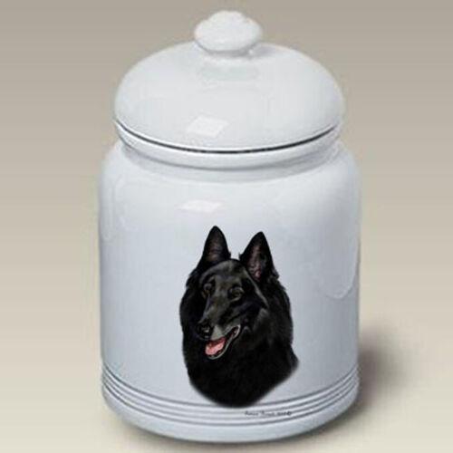 Belgian Sheepdog Ceramic Treat Jar TB 34204