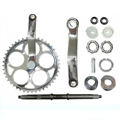 CDHPOWER 44T sprocket Wide Crank Assembly Kit-3pcs 4-stroke motor,Motorized bike