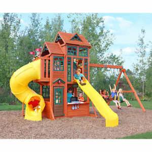 Cedar Summit Canyon Ridge Wooden Play Set