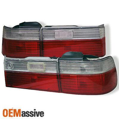 USA All CLEAR Rear Tail Light Pair For 1994-1997 Honda Accord CE1 Wagon * RARE