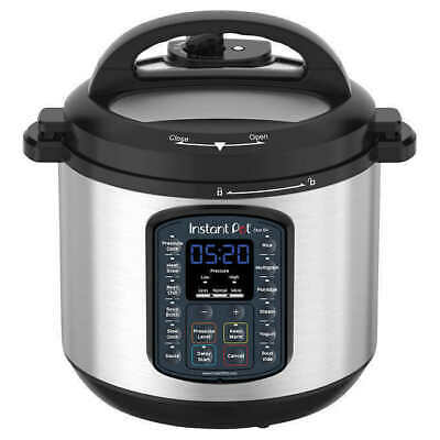 * Used Instant Pot Duo SV 6qt Multi-Use Pressure Cooker 9 in 1