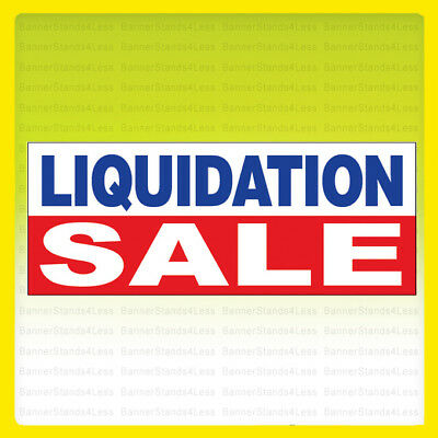 Liquidation Sale - Vinyl Banner Auto Sign 3x10 Ft - Wb