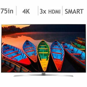 """75"""" 4K SUHD 3D 240 Hz Smart tv from LG"""