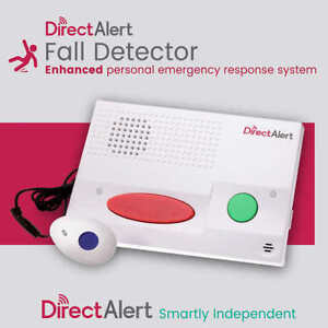 Direct Alert Emergency Response System / Fall Detection Monitor