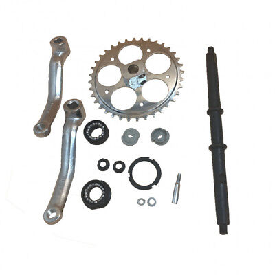 36T Wide Crank Assembly kit-3pcs,for 2-stroke and 4-stroke motor-Motorized bike