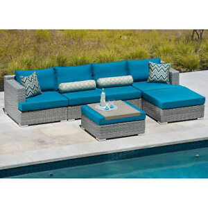 Outdoor Patio Sofa Sectional - 6 Piece (BRAND NEW)