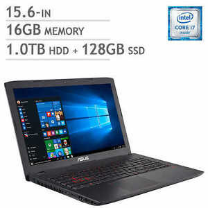 Asus Portable GL552VW 15.6'' i7-6700HQ 16Gb 1TB + 128GB SSD W10