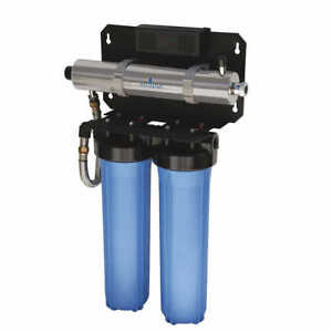 Ultraviolet Whole Home Water Disinfection and Filtration