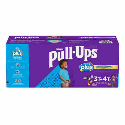 Huggies Pull Ups Training Pants For Boys Size 3T-4T: 32-40lbs, 116ct  CWDS