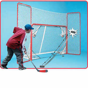 Hockey Net With Back Stop