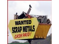 Scrap Metal/Rubbish FREE collection/PAY CASH BEST PRICE for: cooper,brass,lead,cables....07884631154