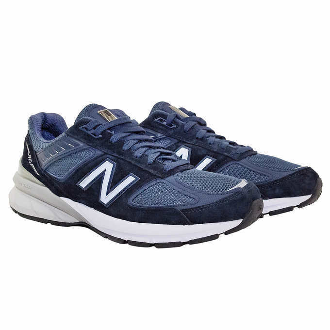 New Balance Men's 990v5 Running Shoe 13 D MED Blue M990NV5 USA Made Sneakers