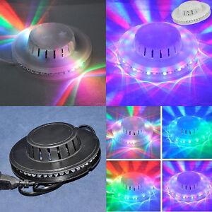 Lampada led party feste discoteca luce tornado disco luci for Luci led colorate