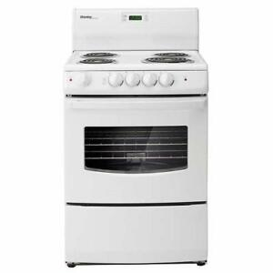 "24"" WIDE ELECTRIC AND GAS STOVES!---YOU CAN'T BEAT THESE PRICES!"