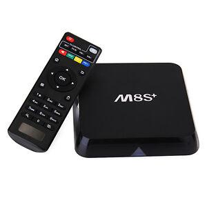 **M8S+ Quad Core Android 5.1 2G/8G 4K 16.0 Kodi TV Box