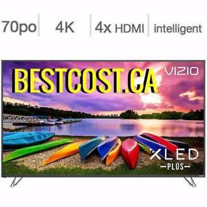 Télévision LED 70'' M70-E3 4K UHD HDR XLED 120hz Chromecast SmartCast Wi-Fi Vizio -  BESTCOST.CA