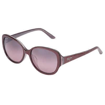 Maui Jim SWEPT AWAY RS733-04C Burgundy Sunglasses Polarized Maui Rose (Rose Lenses)