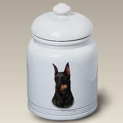 Manchester Terrier Ceramic Treat Jar TB 34249