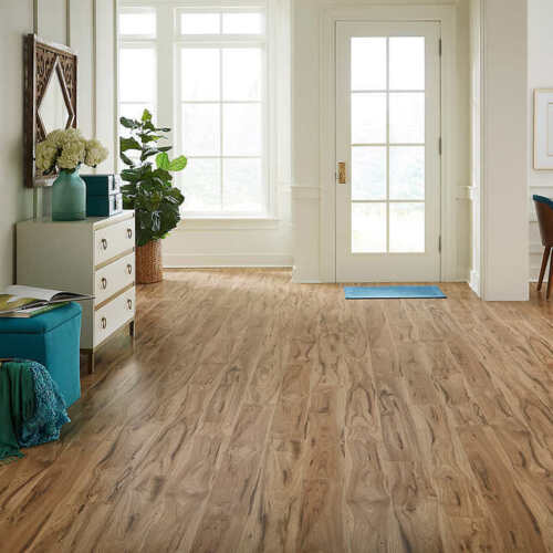 Mohawk Home Millport Hickory Waterproof Laminate 12mm Thick Thick Plank NEW
