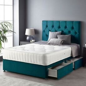 New Storage Bed and Mattress RRP £800