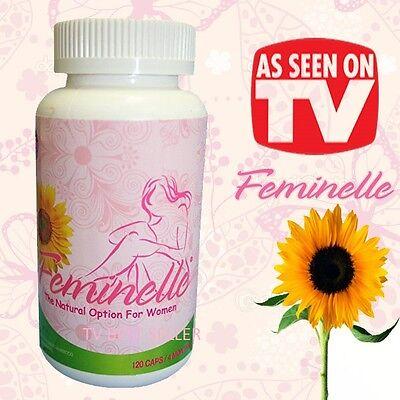 1 FEMINELLE 120 CAPS 100% ORIGINAL Menopausia 2 Times more effective 4