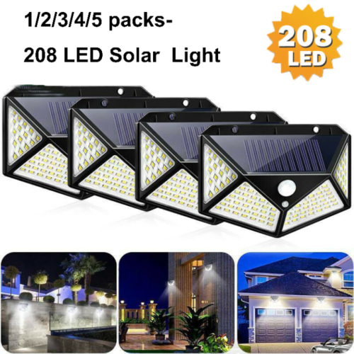 Outdoor Lamp With /& Without PIR Motion Sensor Security Garden Lights With Power Sidewalk Lamps