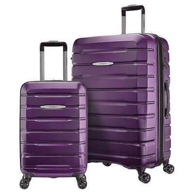 Samsonite Tech 2.0 2-Piece Hardside Spinner Luggage Set - Purple
