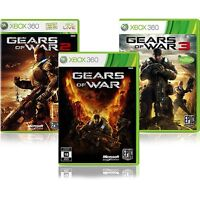 Gears of War 1, 2, 3 Xbox 360