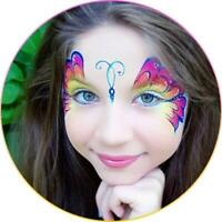 Beautiful Face painting/Balloon twisting$100,Bubble show $150