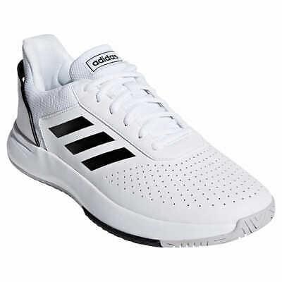 ADIDAS Men's Courtsmash Sneakers Tennis Shoe White (Adidas Tennis Sneakers)