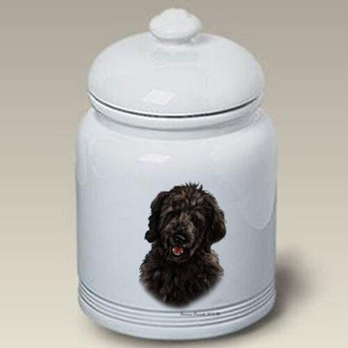 Goldendoodle Ceramic Treat Jar TB 34311