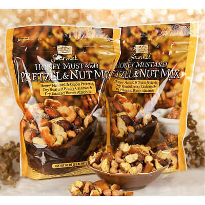 - Savanna Orchards Gourmet Honey Mustard Pretzel & Nut Mix 32 oz, 2-ct.