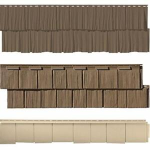 Novik Cedar Shakes - Faux Cedar Shakes Vinyl Siding - Plus a large selection of siding products available across Canada