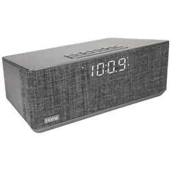 iHome Bluetooth Dual Alarm Stereo Clock Radio w/ Dual USB Charging - IBT233V2G