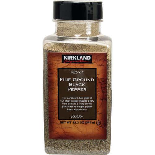 Kirkland Signature Fine Ground Black Pepper 12.3 oz