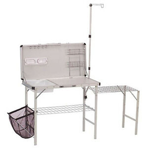 COLEMAN Portable Deluxe Pack-Away Camp Kitchen w/ Food Prep Area   2000020275