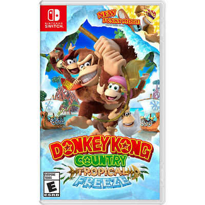 Donkey Kong Country  Tropical Freeze Nintendo Switch Video Game