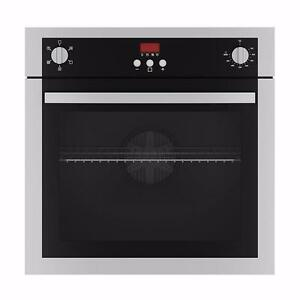 """BRAND NEW Ancona 5 Function Built-in Oven 24"""" Stainless Steel"""