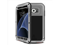 Love Mei Shock / water / dust Proof Alu Metal Glass Case Cover Samsung Galaxy S6