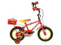 New Apollo Firechief Kids Bike, Helmet & Mitts