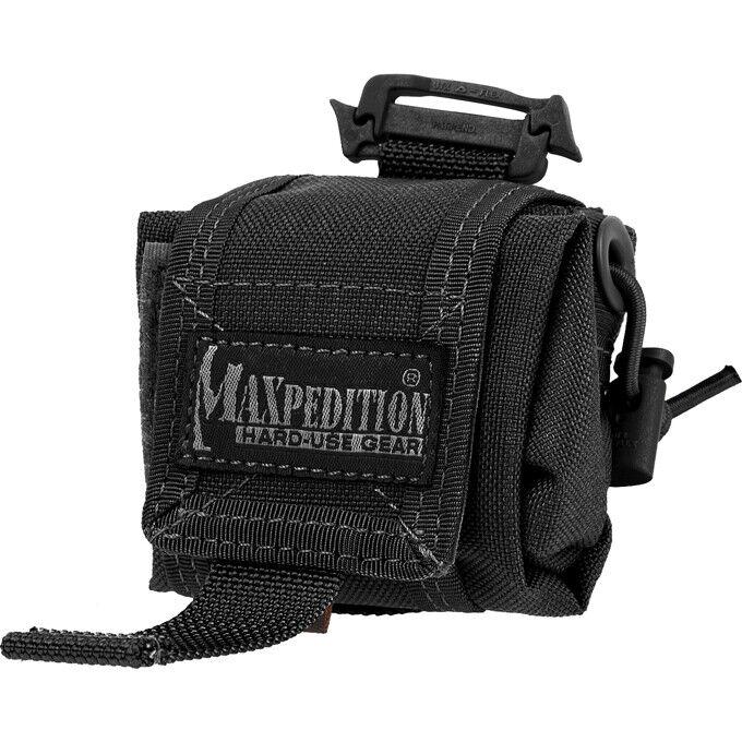 Maxpedition MX207B Mini Rollypoly Black Folding Pouch Bag