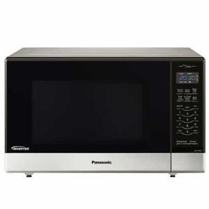 Four à Micro-Ondes Panasonic 1.2 pi.cu NN-ST696S 1200W Inverter Inox - Microwave Oven - BESTCOST.CA