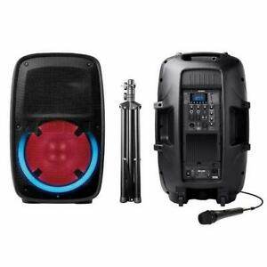 Haut-Parleur ION Bluetooth Total PA GLOW2 400 Watts (TRÉPIED ET MICRO INCL) -  Speaker ION Bluetooth 400W - BESTCOST.CA